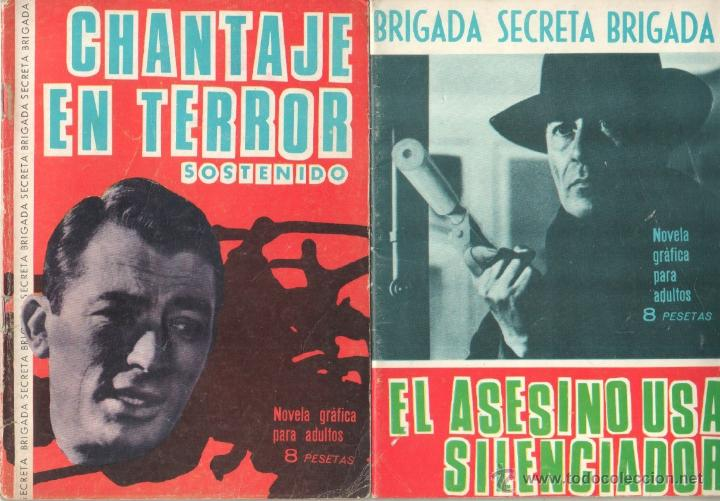 Tebeos: BRIGADA SECRETA - LOTE DE 87 EJEMPLARES , EDICIONES TORAY 1962 - Foto 7 - 48816058