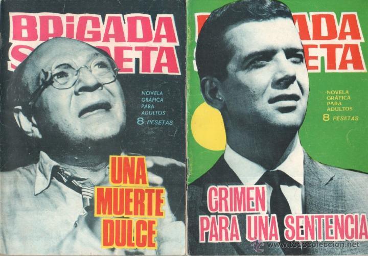 Tebeos: BRIGADA SECRETA - LOTE DE 87 EJEMPLARES , EDICIONES TORAY 1962 - Foto 10 - 48816058