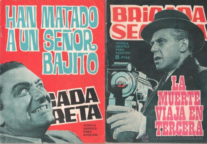 Tebeos: BRIGADA SECRETA - LOTE DE 87 EJEMPLARES , EDICIONES TORAY 1962 - Foto 11 - 48816058