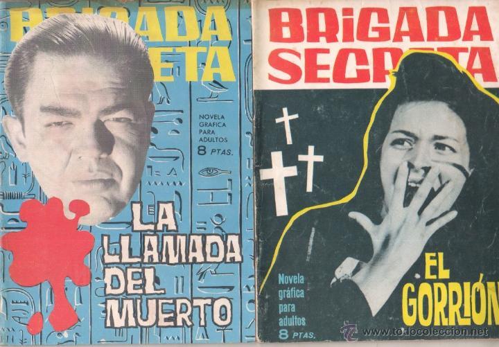 Tebeos: BRIGADA SECRETA - LOTE DE 87 EJEMPLARES , EDICIONES TORAY 1962 - Foto 12 - 48816058