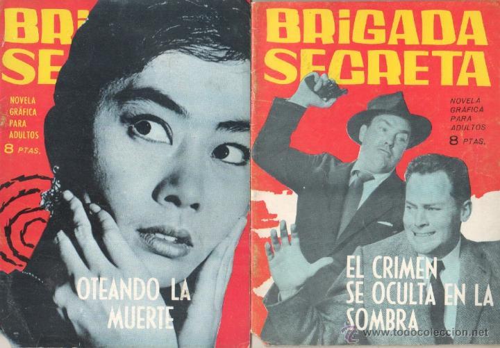 Tebeos: BRIGADA SECRETA - LOTE DE 87 EJEMPLARES , EDICIONES TORAY 1962 - Foto 13 - 48816058