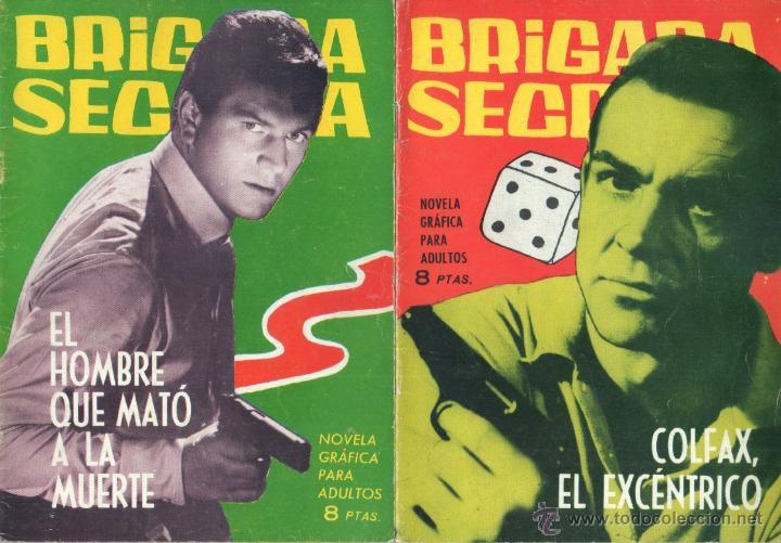Tebeos: BRIGADA SECRETA - LOTE DE 87 EJEMPLARES , EDICIONES TORAY 1962 - Foto 14 - 48816058