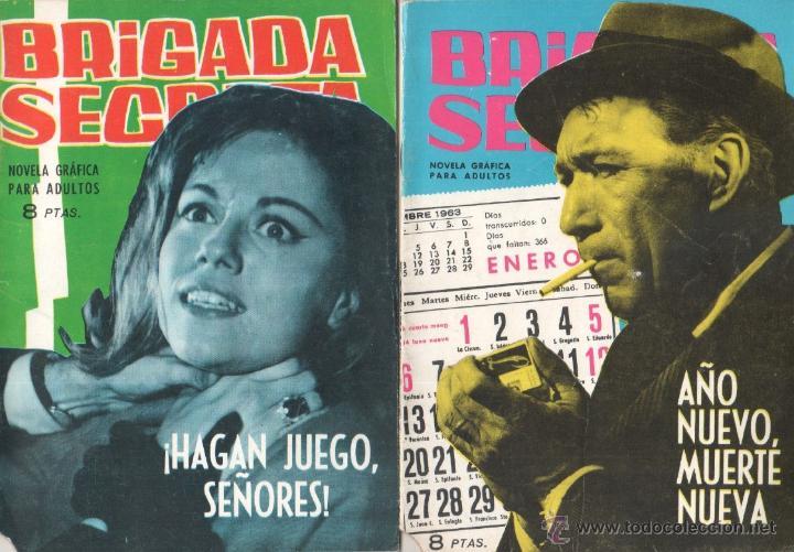 Tebeos: BRIGADA SECRETA - LOTE DE 87 EJEMPLARES , EDICIONES TORAY 1962 - Foto 15 - 48816058