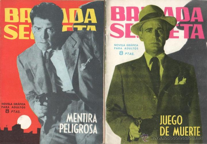 Tebeos: BRIGADA SECRETA - LOTE DE 87 EJEMPLARES , EDICIONES TORAY 1962 - Foto 17 - 48816058
