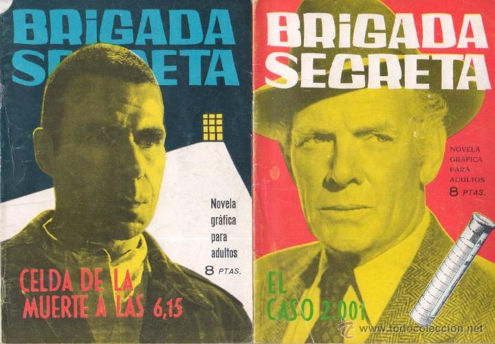 Tebeos: BRIGADA SECRETA - LOTE DE 87 EJEMPLARES , EDICIONES TORAY 1962 - Foto 18 - 48816058