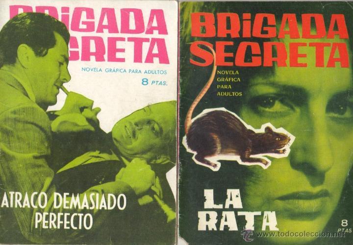 Tebeos: BRIGADA SECRETA - LOTE DE 87 EJEMPLARES , EDICIONES TORAY 1962 - Foto 19 - 48816058