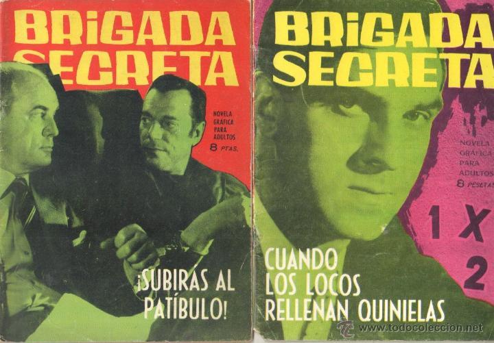 Tebeos: BRIGADA SECRETA - LOTE DE 87 EJEMPLARES , EDICIONES TORAY 1962 - Foto 21 - 48816058