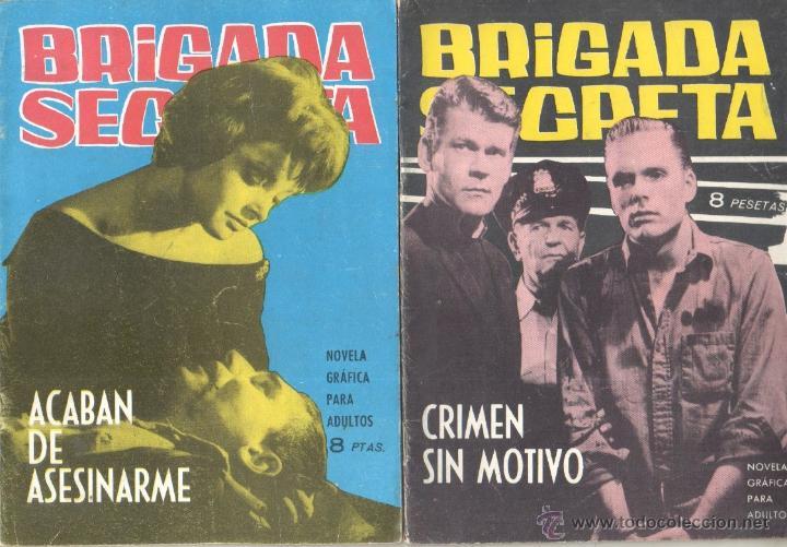 Tebeos: BRIGADA SECRETA - LOTE DE 87 EJEMPLARES , EDICIONES TORAY 1962 - Foto 22 - 48816058