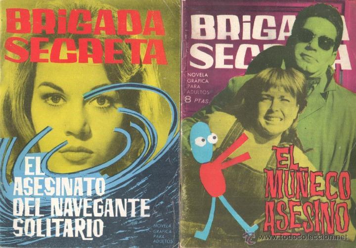 Tebeos: BRIGADA SECRETA - LOTE DE 87 EJEMPLARES , EDICIONES TORAY 1962 - Foto 23 - 48816058