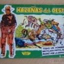 Tebeos: TORAY HAZAÑAS DEL OESTE VERDE Nº 1-15-18-20 AL 26-30-31- 44-ALMANAQUE 1961. Lote 166811622