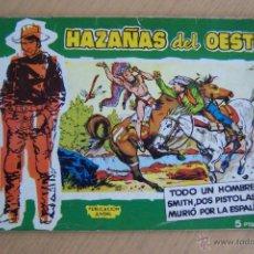Tebeos: TORAY HAZAÑAS DEL OESTE VERDE Nº 1-15-18-20 AL 26-30-31-43-44 Y OTRO 44-ALMANAQUE 1961. Lote 49281922