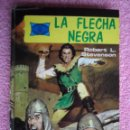 Tebeos: LA FLECHA NEGRA 1976 TORAY HISTORIAS FAMOSAS 5 ROBERT STEVENSON EDICIÓN 1ª. Lote 48937905