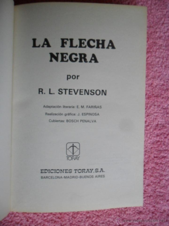 Tebeos: la flecha negra historias famosas 5 editorial toray 1976 robert stevenson edición 1ª - Foto 3 - 48937905