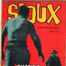 Tebeos: SIOUX Nº 22 EDICIONES TORAY 1965. Lote 48950491