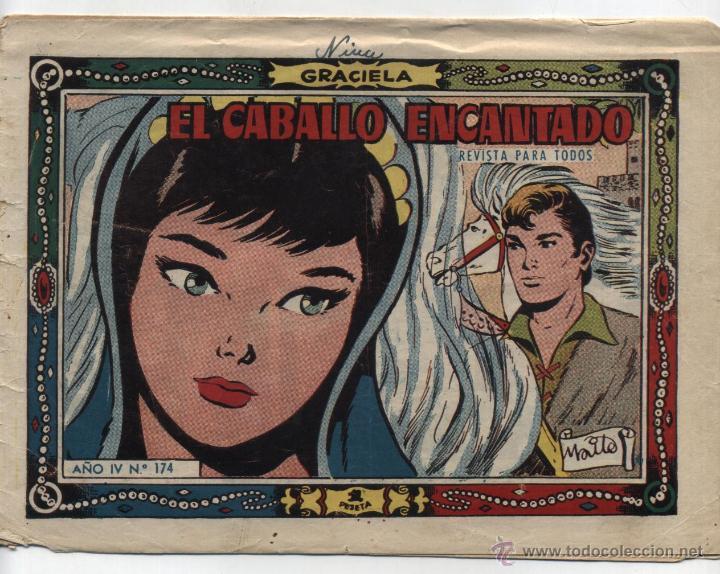GRACIELA Nº 174. (Tebeos y Comics - Toray - Graciela)
