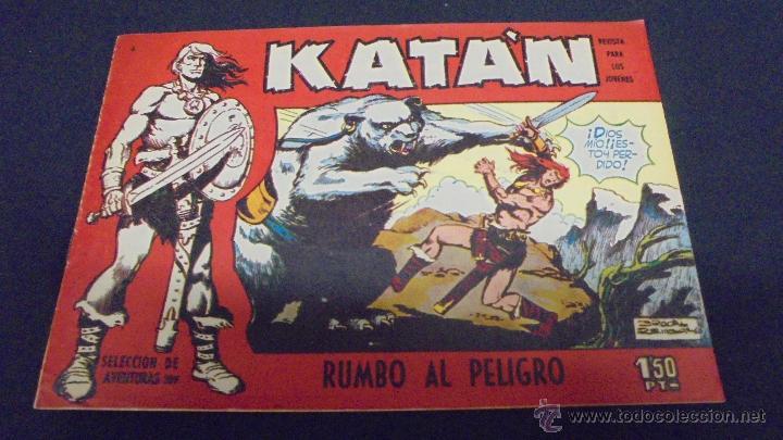 KATÀN. Nº 6. EDICIONES TORAY. 1960 -1961. (Tebeos y Comics - Toray - Katan)