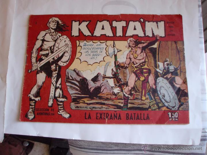 KATAN Nº 3 ORIGINAL (Tebeos y Comics - Toray - Katan)
