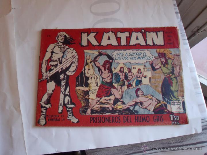 KATAN Nº 17 ORIGINAL (Tebeos y Comics - Toray - Katan)