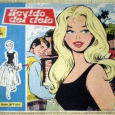 Tebeos: COL. ROSAS BLANCAS Nº 40 LLOVIDO DEL CIELO TORAY 1958 REVISTA JUVENIL CHICAS DIBUJOS MARÍA PASCUAL. Lote 49040599
