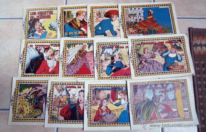 12 COMICS AZUCENA, AÑOS 50-60. DIBUJOS DE ROSA GALCERAN (Tebeos y Comics - Toray - Azucena)
