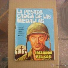 Tebeos: HAZAÑAS BÉLICAS Nº 84, NOVELA GRÁFICA, EDITORIAL TORAY. Lote 49050462