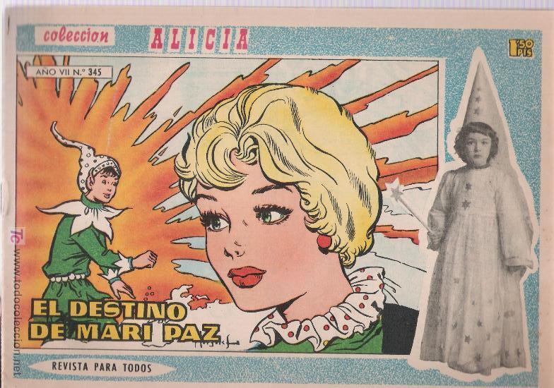 ALICIA Nº 345. TORAY. (Tebeos y Comics - Toray - Alicia)