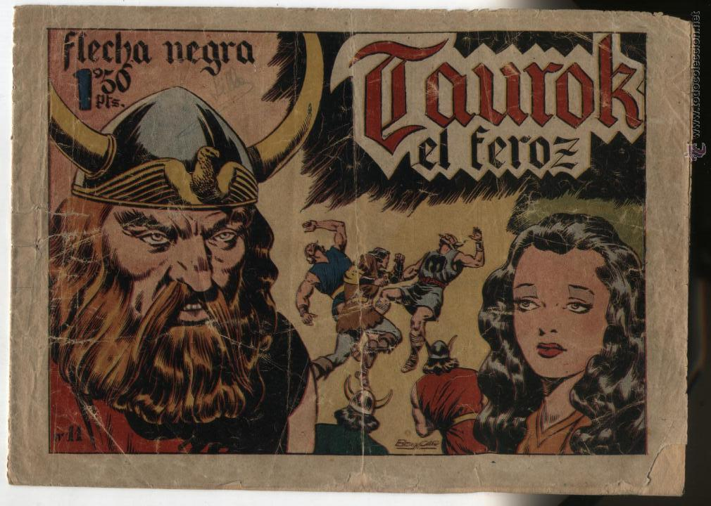 FLECHA NEGRA Nº 11. TORAY. (Tebeos y Comics - Toray - Flecha Negra)