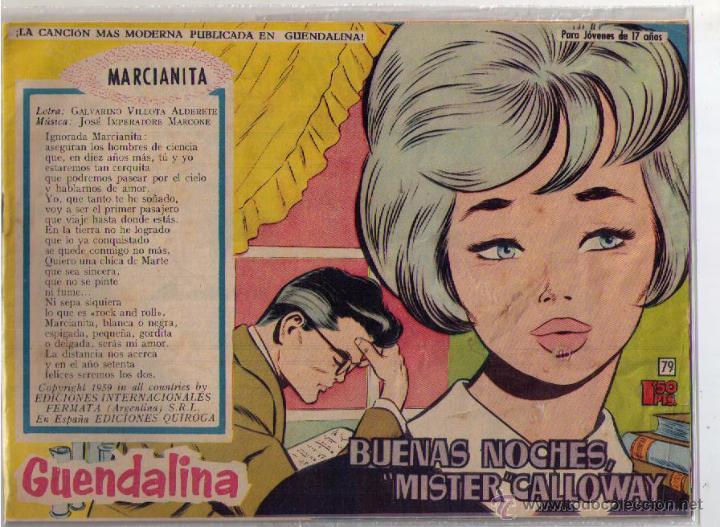 GUENDALINA Nº 79 (Tebeos y Comics - Toray - Guendalina)