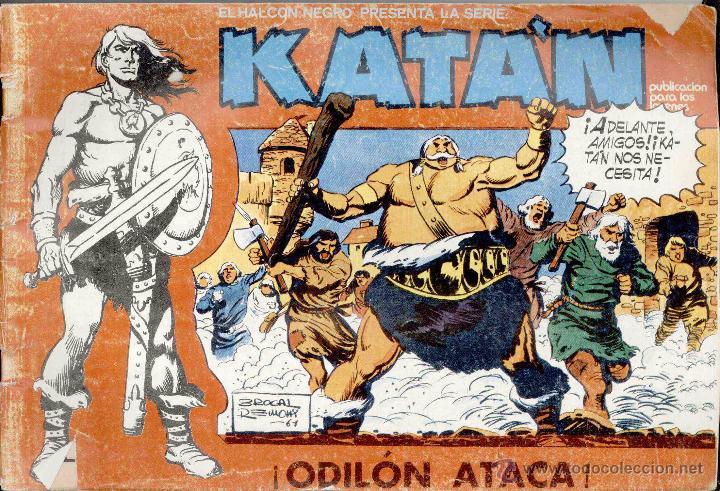 KATAN Nº10 (Tebeos y Comics - Toray - Katan)