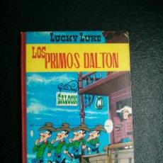 Tebeos: LUCKY LUKE - LOS PRIMOS DALTON - TORAY - ENERO 1969 - TAPA DURA. Lote 49376356