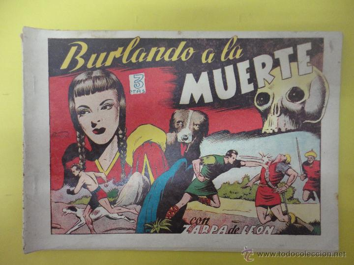 BURLANDO A LA MUERTE. EN POS DEL DESTINO. FURIA SALVAJO. ZARPA DE LEÓN. TORAY. ALBUM IV (ORIGINAL) (Tebeos y Comics - Toray - Zarpa de León)