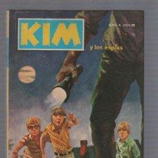 Tebeos: KIM Y LOS ESPIAS. Nº 9. JENS K.HOLM. 1974. EDICIONES TORAY. Lote 55795049
