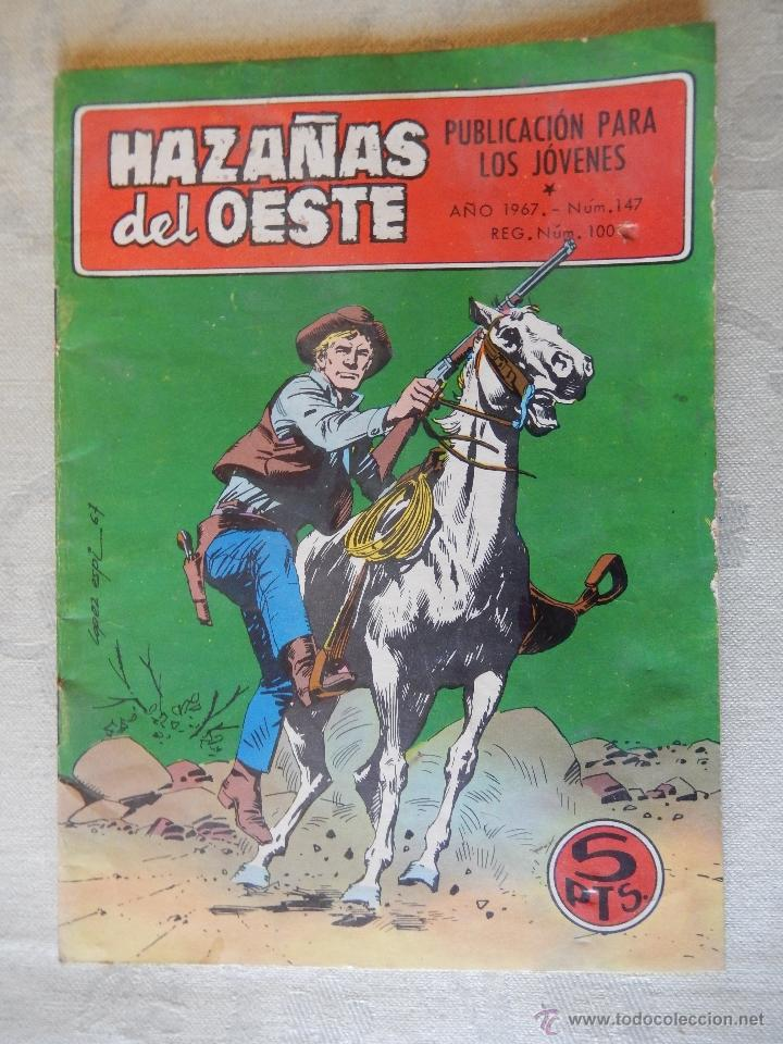HAZAÑAS DEL OESTE Nº147, JOE, EL GIGANTÓN (Tebeos y Comics - Toray - Hazañas del Oeste)