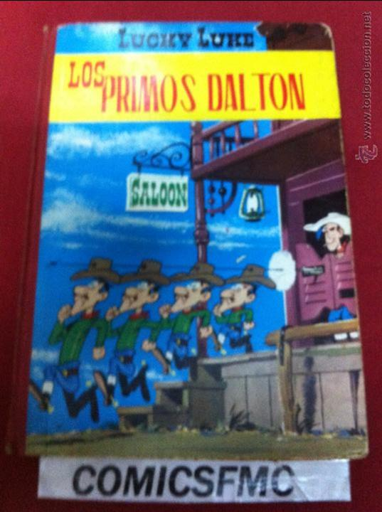 TORAY - LUCKY LUKE 2 EDICION DE 1969 LOS PRIMOS DALTON (Tebeos y Comics - Toray - Otros)