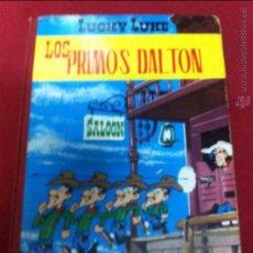 Tebeos: TORAY - LUCKY LUKE 2 EDICION DE 1969 LOS PRIMOS DALTON. Lote 49542335