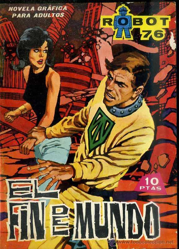 ROBOT 76 Nº 3 - EL FIN DEL MUNDO (Tebeos y Comics - Toray - Otros)