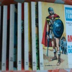 Tebeos: HOMBRES FAMOSOS Nº 2, 4, 10, 12, 16, 17, 18 Y 20 (TORAY 1968/69) 8 TEBEOS.. Lote 48600545