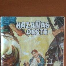 Tebeos: HAZAÑAS DEL OESTE Nº 41 ** TORAY 1959 * CONTRAPORTADA VIRNA LISI. Lote 50153608