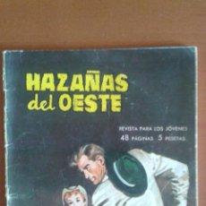 Tebeos: HAZAÑAS DEL OESTE Nº 30 ** TORAY 1969. Lote 50153658