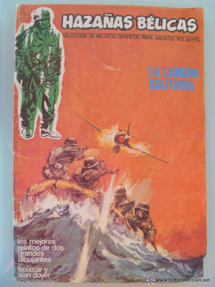 HAZAÑAS BELICAS . Nº 2 , 1973 : BOIXCAR , ETC.. (Tebeos y Comics - Toray - Hazañas Bélicas)