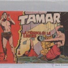 Tebeos: TAMAR. HOMBRES DE ACCION. Nº 133. LA FABRICA DE LA LOCURA. Lote 50302192