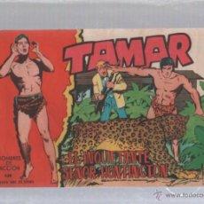 Tebeos: TAMAR. HOMBRES DE ACCION. Nº 138. EL INQUIETANTE SEÑOR HUNTINGTON. Lote 50302286