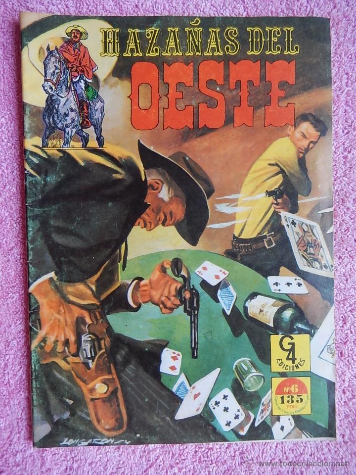 HAZAÑAS DEL OESTE 6 EDICIONES G4 1987 (Tebeos y Comics - Toray - Hazañas del Oeste)