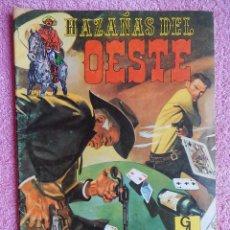 Tebeos: HAZAÑAS DEL OESTE 6 EDICIONES G4 1987. Lote 50338934