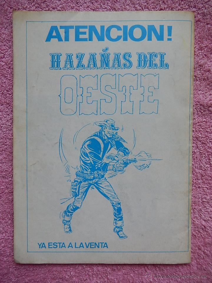 Tebeos: hazañas del oeste 6 ediciones g4 1987 - Foto 4 - 50338934