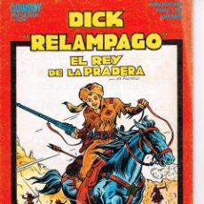 Tebeos: DICK RELÁMPAGO COMPLETA 4 NÚMEROS.,EDICIONES URSUS. IRANZO.. Lote 50368911