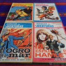 Tebeos: HURACÁN DE AVENTURAS NºS 1 2 3 4 COMPLETA. TORAY 1969. 25 PTS. . Lote 50421294