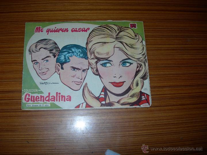 GUENDALINA Nº 15 DE EDITORIAL TORAY (Tebeos y Comics - Toray - Guendalina)