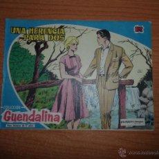 BDs: GUENDALINA Nº 22 ED. TORAY AÑOS 50 ORIGINAL. Lote 50476561