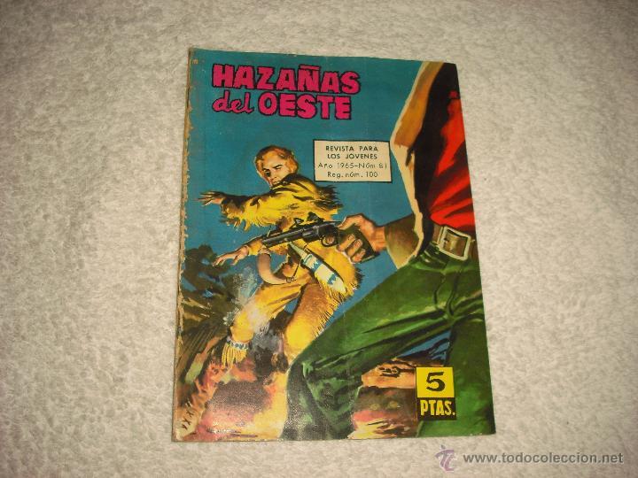 HAZAÑAS DEL OESTE 81 (Tebeos y Comics - Toray - Hazañas del Oeste)